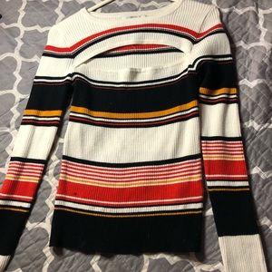 warm sweater shirt